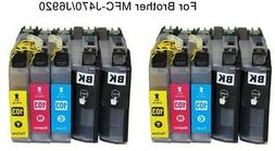 10 ink toner for brother LC101/103 MFC-J6920DW/J470DW all-in