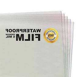 100 Sheets - 5 MIL Thick - Waterproof Screen Printing Inkjet