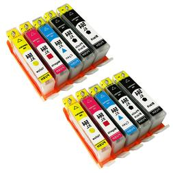 10PK +Chip For HP Printer 564XL 564 Ink Cartridge Photosmart