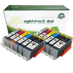 12pack Ink #250XL #251 2-SET Fits Canon MX722/MX922 MG6320 M