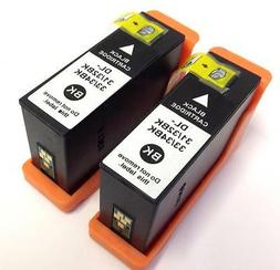 2PK Black 31 Ink Cartridges New Chip For Dell Series  Printe