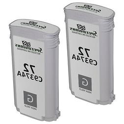 2pk Remanufactured Replacement Ink Cartridge for HP C9374A