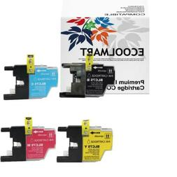 4-PACK High-Yield LC75 Ink Cartridge Set for Brother MFC J83