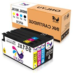 4Pack 950XL 951XL Ink Cartridge For HP 950 951 Printer Black