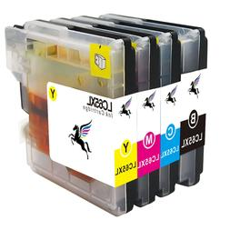 4 PCS Ink Inkjet Set For Brother LC61 LC65 MFC-295CN MFC-490