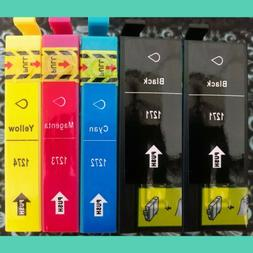 5pk 127 Black Color Ink Printer WorkForce WF60 WF630 WF645 W