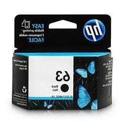 HP 63 Black Original Ink Cartridge