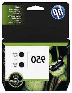 HP L0S28AN  950 Black Ink Cartridge, 2 Ink Cartridges  for
