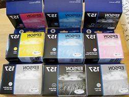Epson UltraChrome K3 157 Inkjet Cartridge T157120 Photo Blac