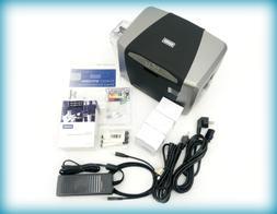 Fargo DTC1250e Single Sided USB Card Printer with Supplies B