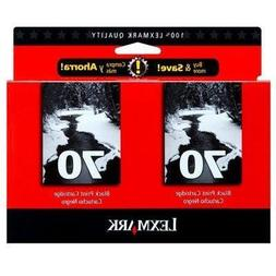 Lexmark, Twin-Pack #70 High Res. Black