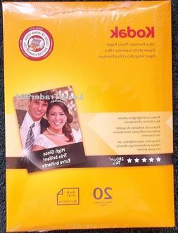 Wholesale CASE of 20 - Kodak Ultra Premium Photo Paper-Premi