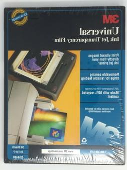 3M CG3480 Transparency Film for Ink Jet Printers 50 Sheets 8