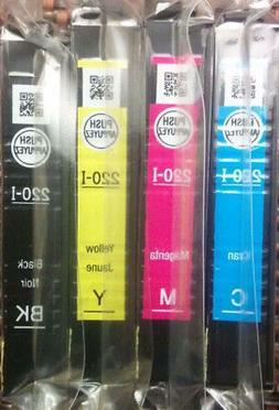 Genuine Epson 220 ink Cartridge-Black Tri-Color for Espon XP