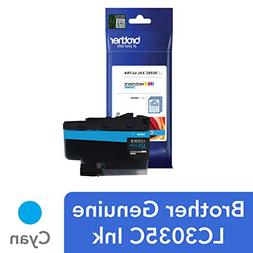 Brother Genuine LC3035C, Single Pack Ultra High-Yield Cyan I