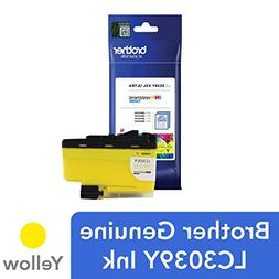 Brother Genuine LC3039Y, Single Pack Ultra High-Yield Yellow