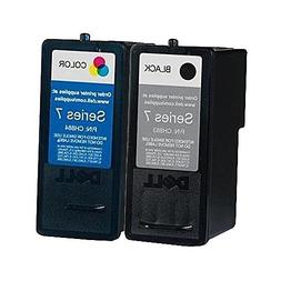 Genuine Dell Series 7 CH883 CH884 Ink cartridge 2 Pack in Bu