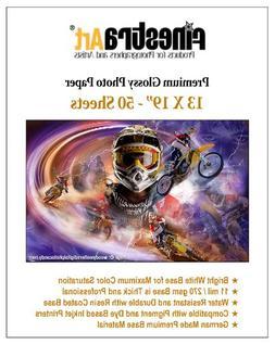 "13"" X 19"" 50 Sheets Premium Glossy Inkjet Photo Paper"