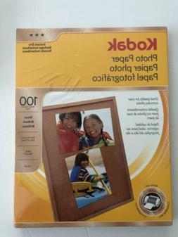 Kodak Glossy Photo Paper, 8.5 x 11 Inches, 100 Sheets per Pa