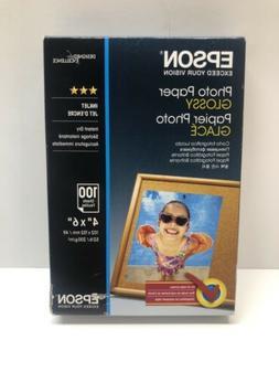 "Epson Photo Paper Glossy - Borderless - S042038, 4"" x 6"""