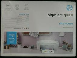 HP DeskJet 2752 Wireless All-in-One Color Inkjet Printer - I