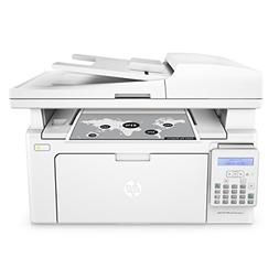 HP LaserJet Pro M130fn All-in-One Laser Printer with print s