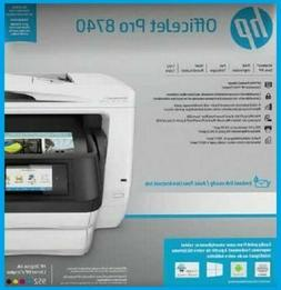HP Officejet Pro 8740 All-in-One Inkjet Multifunction Color