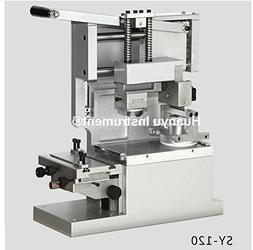 SY-120 Desktop Manual Round Pad Printer Move ink Printer Pri