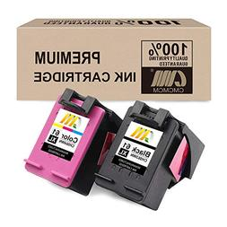 CMCMCM Remanufactured Ink Cartridge for HP 61 XL Combo Pack