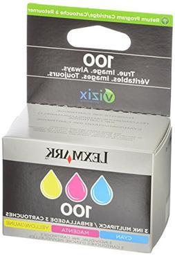 100 Color Ink Cartridge Tri-pk- Cyan/Magenta/Yellow