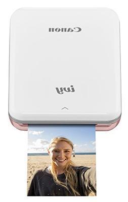 Canon IVY Mobile Mini Photo Printer through Bluetooth, Rose