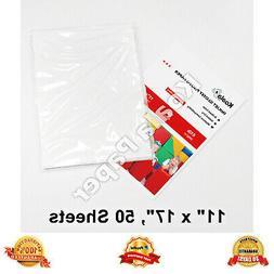 Koala 11x17 Premium Glossy Inkjet Printer Photo Paper 50 She