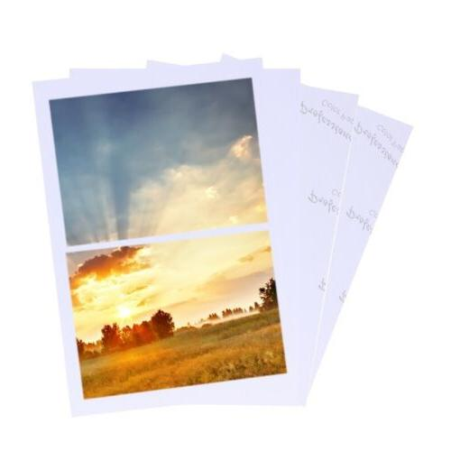 """100 Sheets Glossy 4R 4""""x6"""" Photo Paper High Quality For Inkj"""