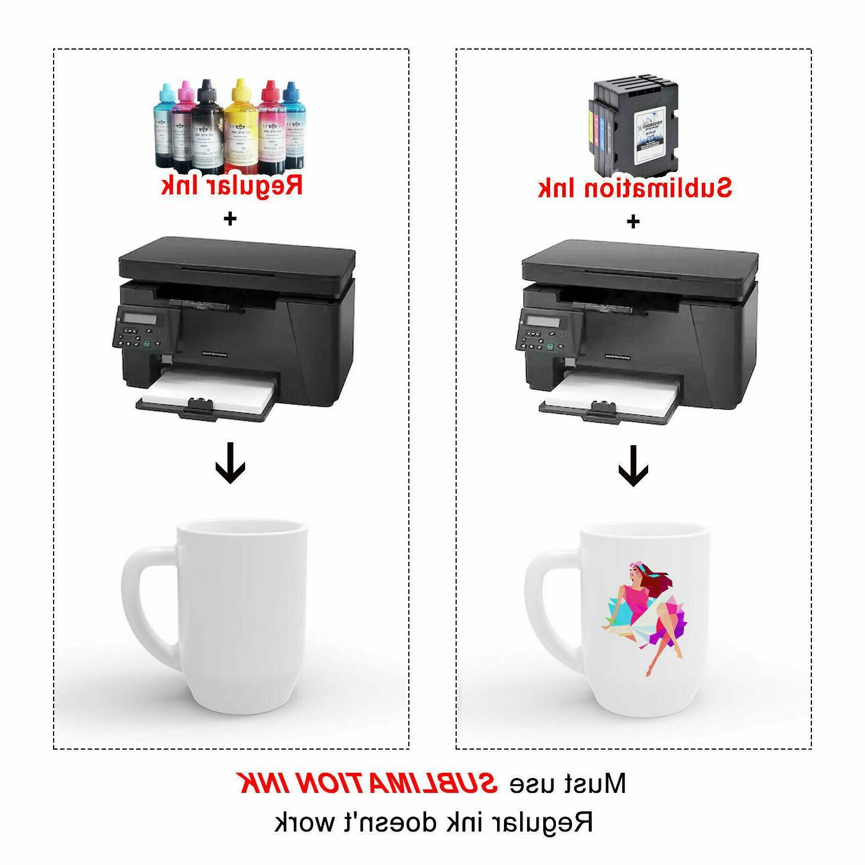 100 Transfer Paper All Inkjet Printers
