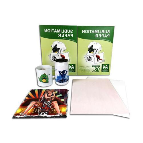 110Pcs Iron Heat Sublimation for Printer Mug
