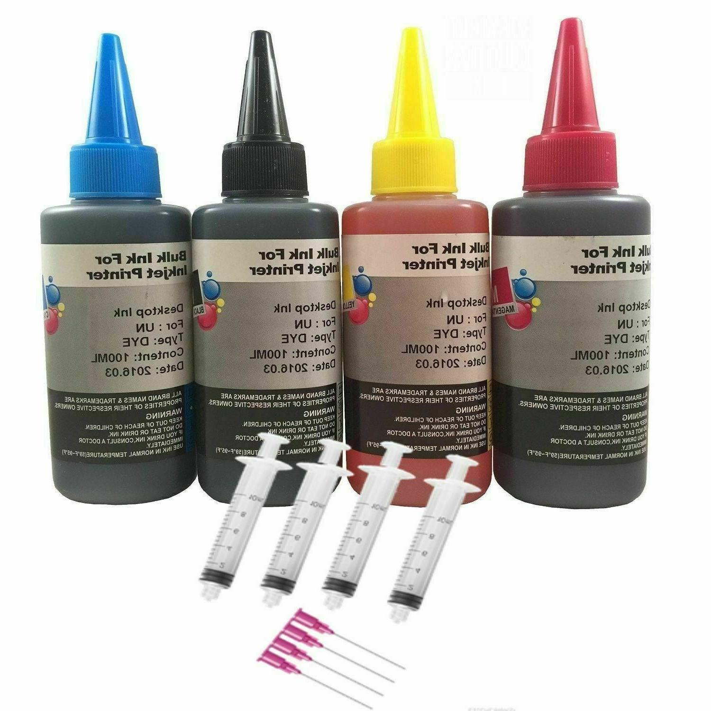 refill ink kit 400ml for hp 61