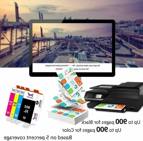 5 902 XL 902XL OfficeJet Pro 6978 6968 6958