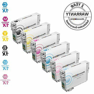 6 pack ink cartridge for epson t079