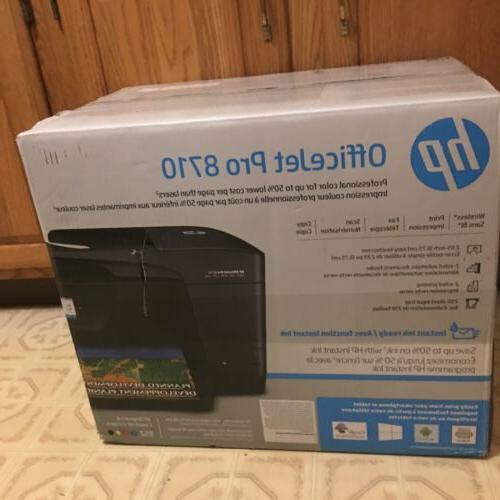 HP 8710 OfficeJet Copy, Print, & *NEW Shipping