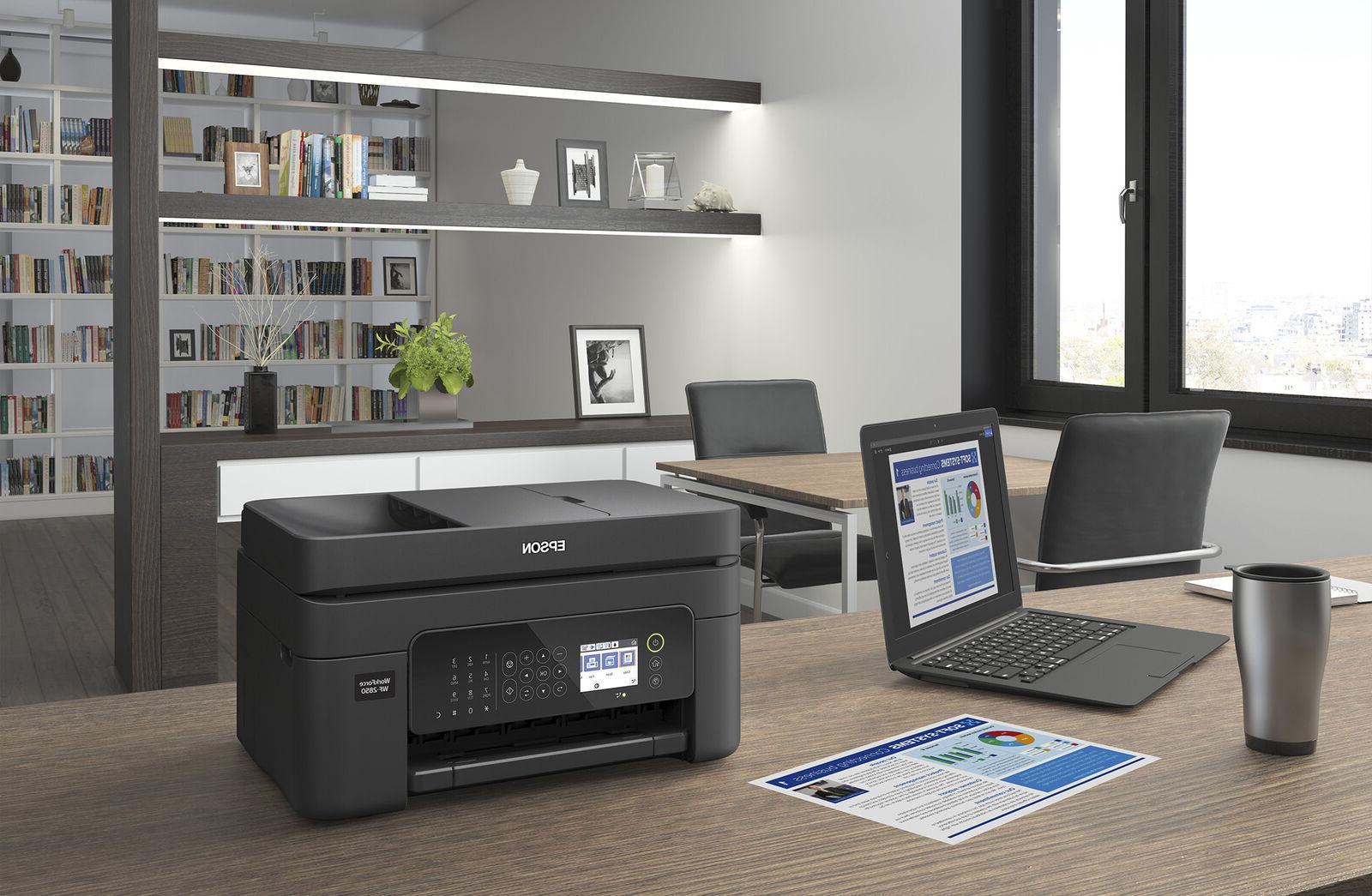 Epson Printer Fax Home Office WiFi