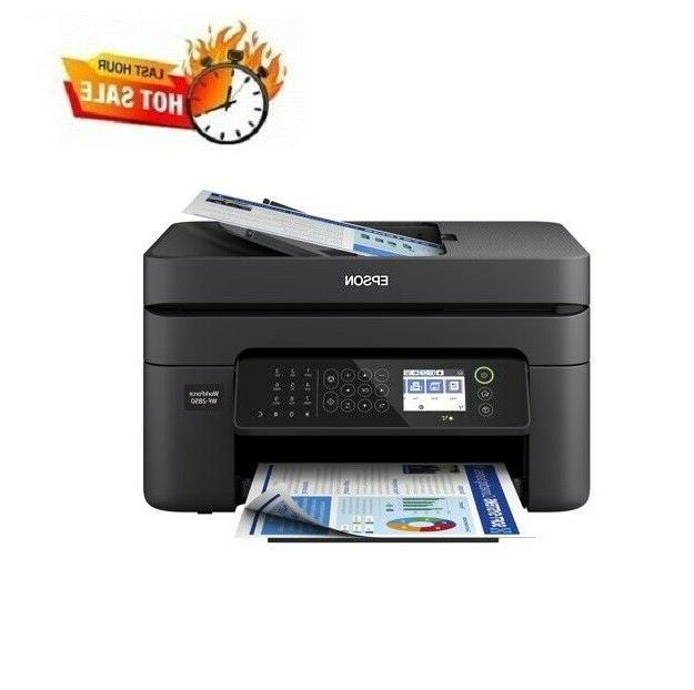 all in one wireless printer fax scanner