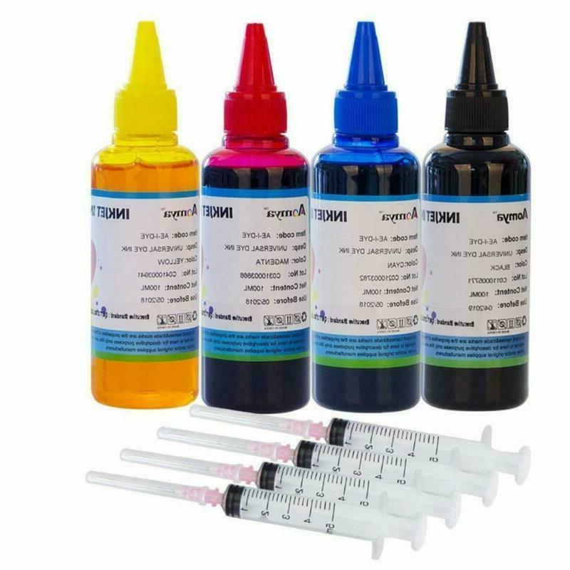 aomya refill ink kit 100ml for hp