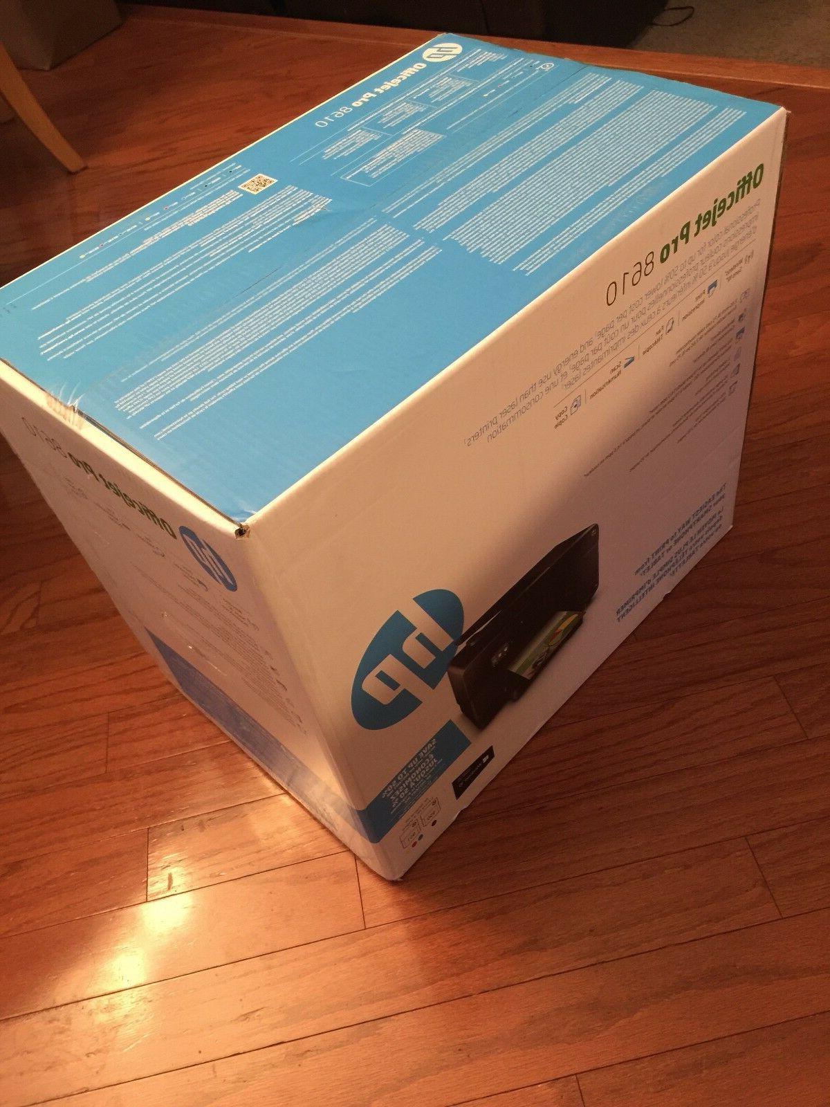 Brand HP Officejet Pro 8610 Wireless All-In-One Color Inkjet Printer w/ Ink