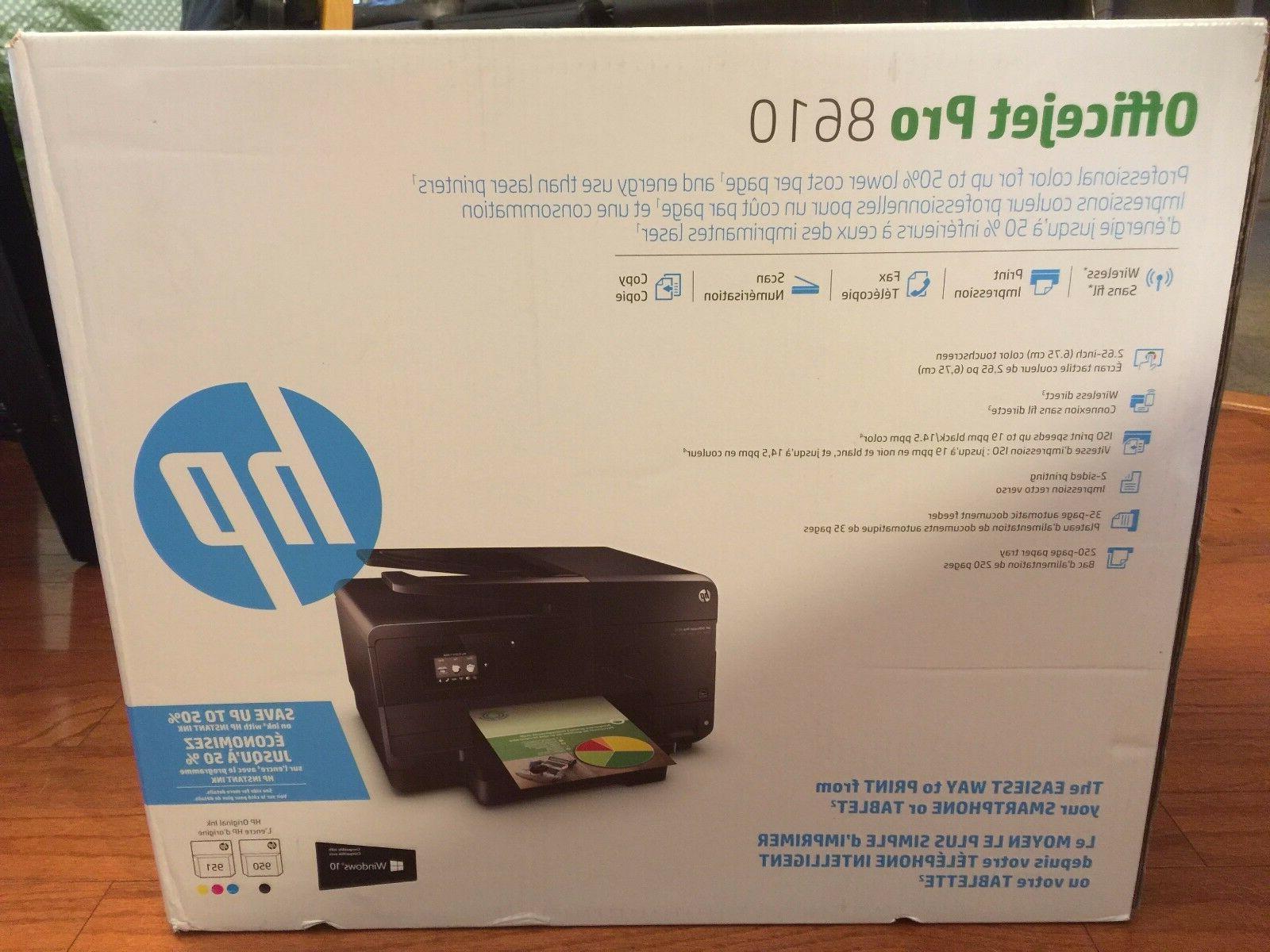 brand new officejet pro 8610 wireless all