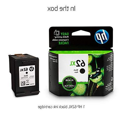 HP C2P05AN 62XL High Original Cartridge For ENVY 5643, 5640, 5642, 5660, 7640, 5740, 5741, 5742, 5744, 5745,