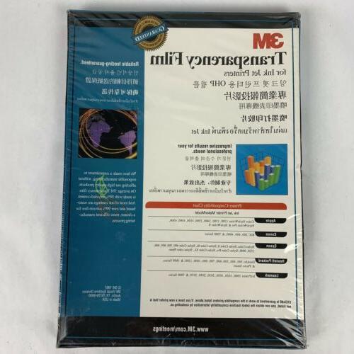 3M CG3480 Film For InkJet 50 Sheets