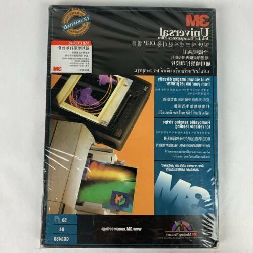 cg3480 transparency film for inkjet printers 50