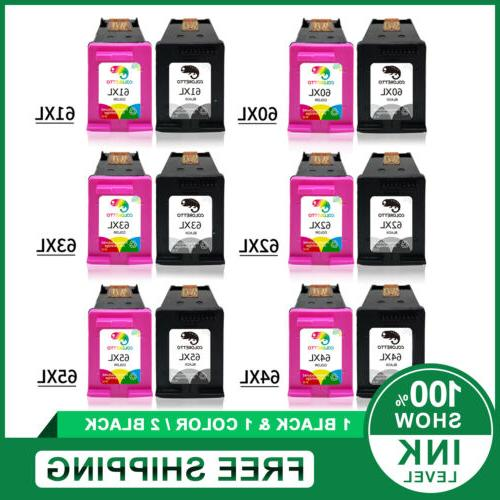 combo black and color ink cartridge 65xl