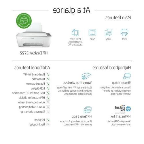 HP 2722 Wireless Color –