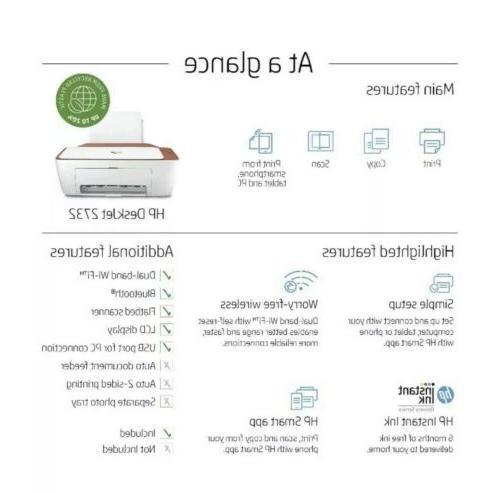 HP Deskjet Wireless In Ink Ready Terracotta *FREE SHIPPING!